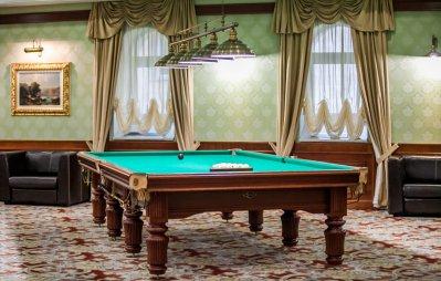Бильярдная комната в санатории «Заря» (Кисловодск)